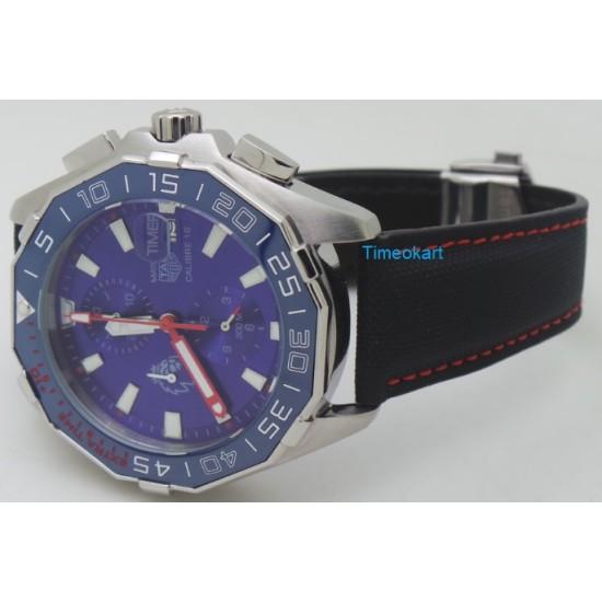 TAG Heuer Match Timer Calibre 16 Blue Dial Watch