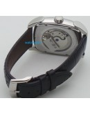 Parmigiani Fleurier: Kalpa XL Tourbillon Skeliton Steel White Swiss Automatic Watch