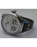 I W C Big Pilot Double Tourbillon Swiss ETA Automatic Watch