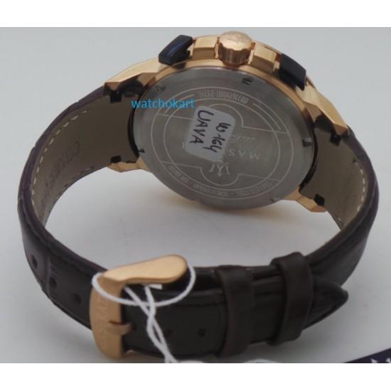 Maserati Ingegno White Dial Rose Gold Watch