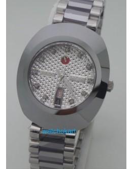 Rado Diastar Steel DAY-DATE White Swiss Automatic Watch