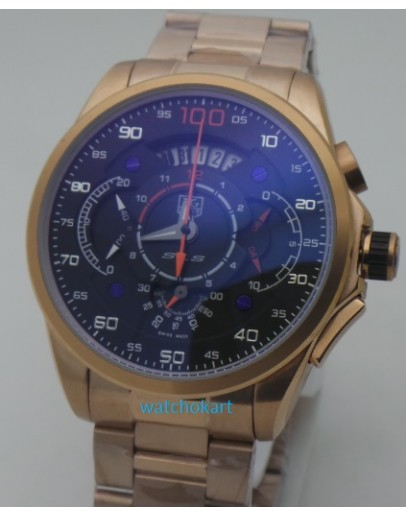 Tag Heuer Grand Carrera Mercedes Benz SLS Rose Gold Watch