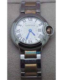 Cartier Ballon Bleu de Women Dual Tone Watch