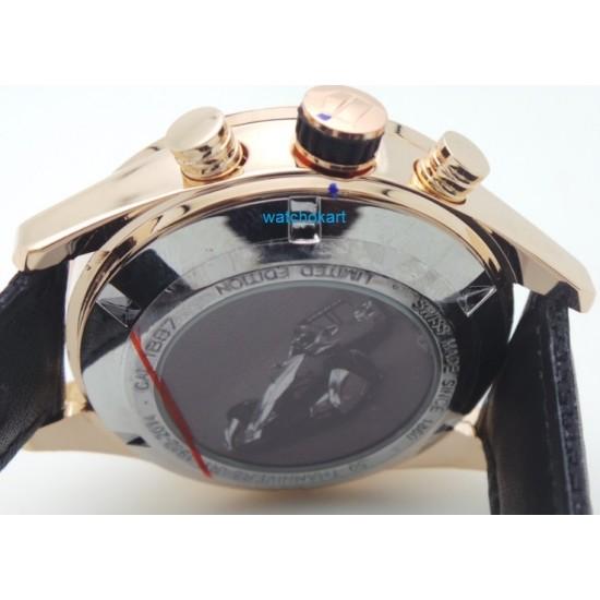 Tag Heuer Carrera Choronograph 50th Anniversary Edition Black 2 Watch