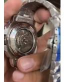 Panerai GMT Steel Swiss Automatic Watch