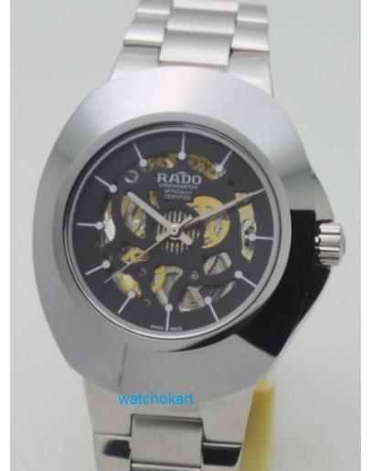 Rado Skeleton Chronometer R12828163 Swiss ETA 7750 Valjoux Movement Watch