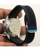 Omega Seamaster Planet Ocean Steel Chronometer Chronograph Watch