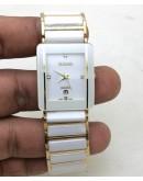 Rado Jubile Squre White Dual Tone Watch
