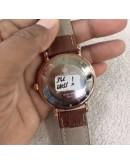 Patek Philippe Calatrava Leather Strap Watch