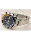Omega Seamaster Planet Ocean Master Chronometer Chronograph Black Watches