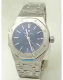 Audemars Piguet Royal Oak Steel Blue Swiss Automatic Watch