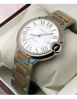 Cartier Ballon Bleu de Swiss ETA Valjoux 7750 Movement  Watch