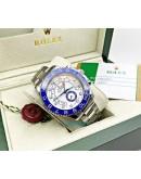 Rolex Yacht Master White Steel Swiss Automatic Watch